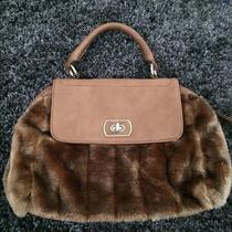 Gently Worn Aldo Handbag Faux Fur Photo