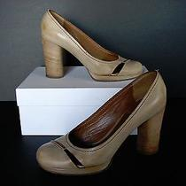 Gently Worn and Loved Chloe Saturnia Calf Leather Pumps Size 38.5 Photo