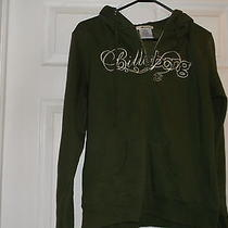 Gently Worn Billabong Brand Olive Green Hoodie Juniors Size Xl Photo