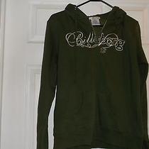 Gently Worn Billabong Brand Olive Green Hoodie Juniors Size Xl Photo