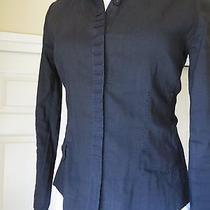Gently Worn Elie Tahari Blouse Beautifully Tailored Blouse Black Si Photo