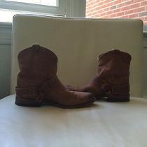 Gently Worn Frye Ankle Boots Photo