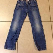 Gently Worn Girl's Diesel Jeans Size 5 Photo