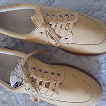 Gently Worn Hogan Tod's Fay Ema 9 Beige Shoes Photo