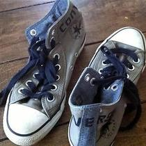 Gently Worn Kids Us 5 Converse Army Green Photo