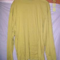 Gently Worn Ladies Xl Extra Large Gap Green Long Sleeved Turtle Neck Shirt Photo