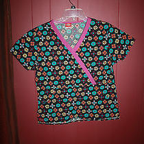 Gently Worn Looks New Women's Scrub Top by Dickies Size Small Photo
