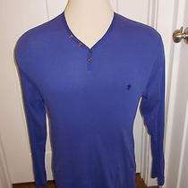 Gently Worn Men's French Connection Long Sleeve Shirt   Size Large  Photo