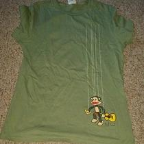 Gently Worn Paul Frank Monkey Tshirt - Size Large Photo
