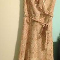 Gently Worn the Limited Women's Silk Paisley Cocktail Dress Size 4 Photo