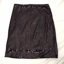 Gently Worn Urban Outfitters Sparkle and Fade Xs Black Sequined Skirt Photo