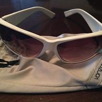 Gently Worn Von Zipper White Sunglasses - Photo