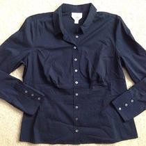 Gently Worn Woman's Talbots Stretch Shirt Size 18 Photo