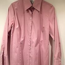 Gently Worn Women's Mauve Blouse Size 10 Express Design Studio Classic Fit Photo