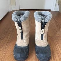 Gently Worn Womens Sorel Winter Boots Size 7 Photo