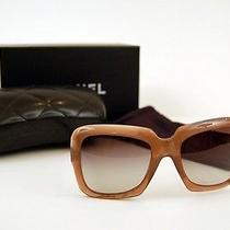 Genuine Authentic Coco Chanel 5157 Womens Brown Sunglasses - Cc Logo Photo