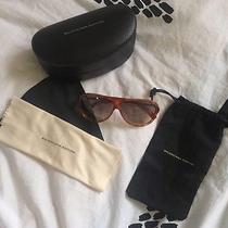 Genuine Balenciaga Tortoise Sunglasses Sunnies With Black Leather Case Etc Photo
