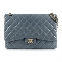 Genuine Chanel Lambskin Maxi Classic Bag Free Express Shipping  Photo