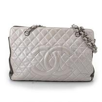Genuine Chanel Two-Tone Shoulder Bag Free Express Shipping  Photo