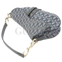 Genuine Christian Dior Denim Saddle Bag Free Express Shipping Photo