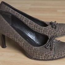 Genuine Coach Ladies' Heels W/ Logo-Uk Size 8/us 10b-Exc Cond Photo