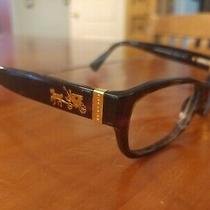 Genuine Coach Women's Hc6078 Eyeglasses Dark Tortoise 52 16 135 Photo