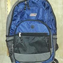 Genuine Dickies Blue Black Grey Laptop Book Bag Photo