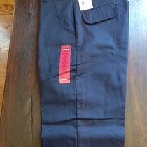 Genuine Dickies Double Seat Loose Fit Size 30x32 Navy Blue Photo