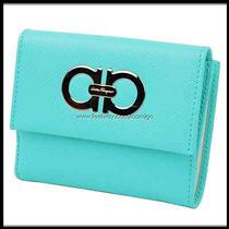 Genuine Ferragamo Women's Wallet 22-7122 Free Express Shipping Photo