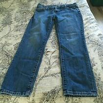 Genuine Fossil Mens 31x32 Straight Leg Denim Blue Jeans  Photo