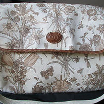 Genuine Gucci Floral Vintage Diaper Bag  Wow Photo