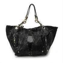 Genuine Jimmy Choo Black Shoulder Bag Free Express Shipping  Photo