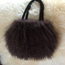 Genuine Lamb/sheep Mongolian Fur Hair Evening Bag Purse Fun Photo