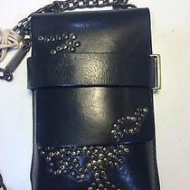 Genuine Leather Diesel Blackportabadgewallet/iphone Small Bag Retail129 Photo