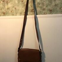 Genuine Leather Fossil Crossbody Bag Brown  Photo