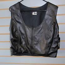 Genuine Leather Lamb Skin Vest Photo