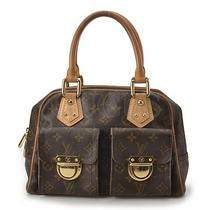 Genuine Louis Vuitton Manhattan Pm Bag Free Express Shipping  Photo