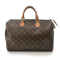 Genuine Louis Vuitton Speedy 35 Free Express Shipping  Photo