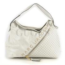 Genuine Marc Jacobs White Shoulder Bag Free Express Shipping  Photo