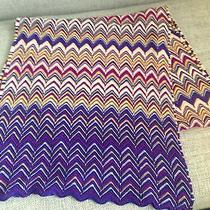 Genuine Missoni Chevron Knit Scarf Photo