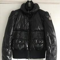 Genuine Moncler Rare Black Jacket Size 2 Photo