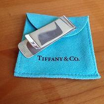 Genuine & Original Signed & Numbered Tiffany Money Clip Sterling Silver 925 Box Photo