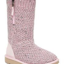 Genuine Pink Ugg Slipper Boots Size 5 Photo