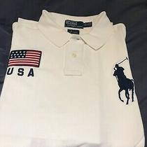 Genuine Polo Ralph Lauren White Olympic Beijing 2008 Men Xxl Photo