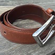 Genuine Prada Brown Leather Belt Photo