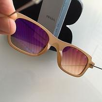 Genuine Prada Sunglasses With Case and Card Photo