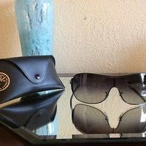 Genuine Ray Ban Rb3321 Gray Shield Sunglasses (Broken Hinge) Photo
