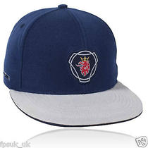 Genuine Scania Griffin Logo Navy Truck Baseball Cap Hat One Size Men's Mens New Photo