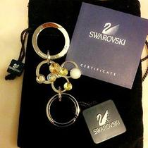 Genuine Swarovski Multicrystal Mickey Keychain/ Key Ring New With Tag 1515429 Photo