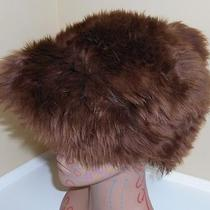 Genuine Tuscan Lamb Skin Brown Fur Hat  Made in Italy Photo